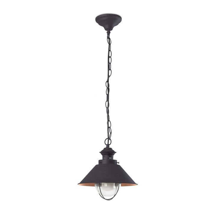 Lámpara de techo colgante estilo marinero  #iluminacion #decoracion #lamparas #interiorismo