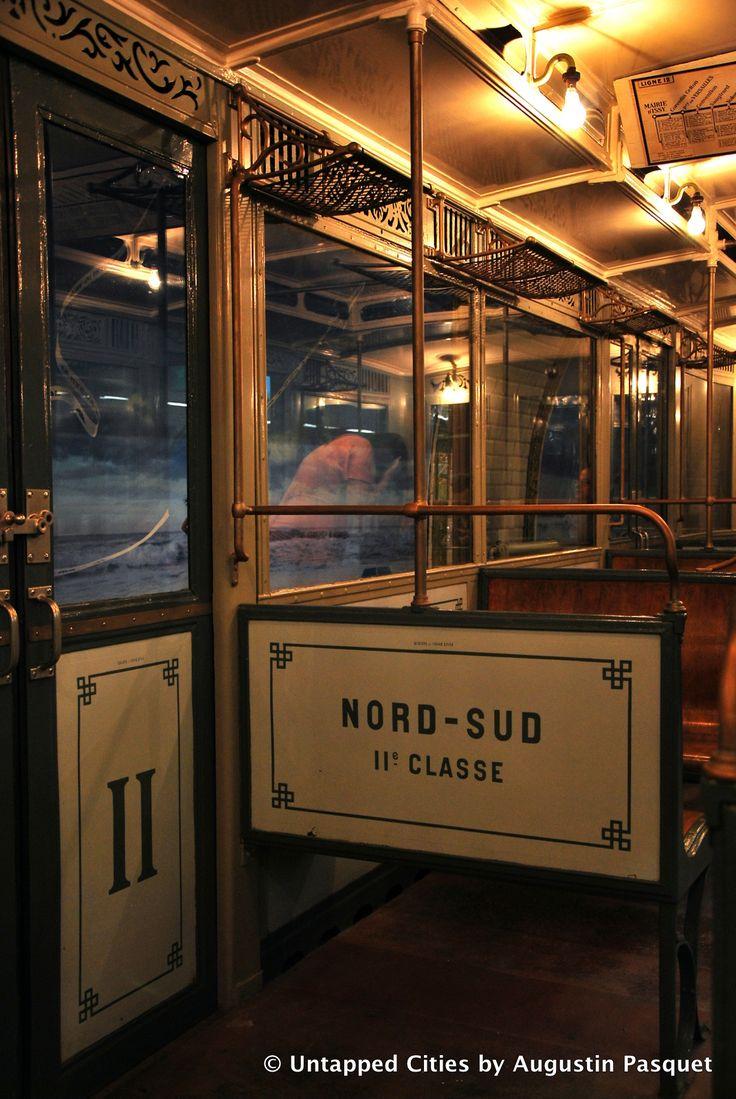 RATP: voiture Sprague Thompson, 2.ème classe.