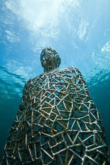 Underwater Sculpture by Jason deCaires Taylo | Art Installations, Sculpture, Contemporary Art | Scoop.it