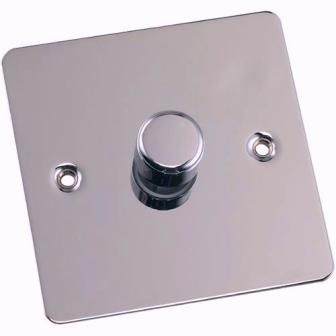 Classy Chrome Dimmer Switches installed in Sydney