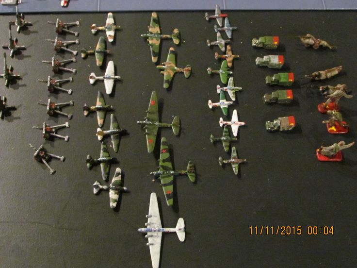 Axis And Allies Painted Pieces For Sale