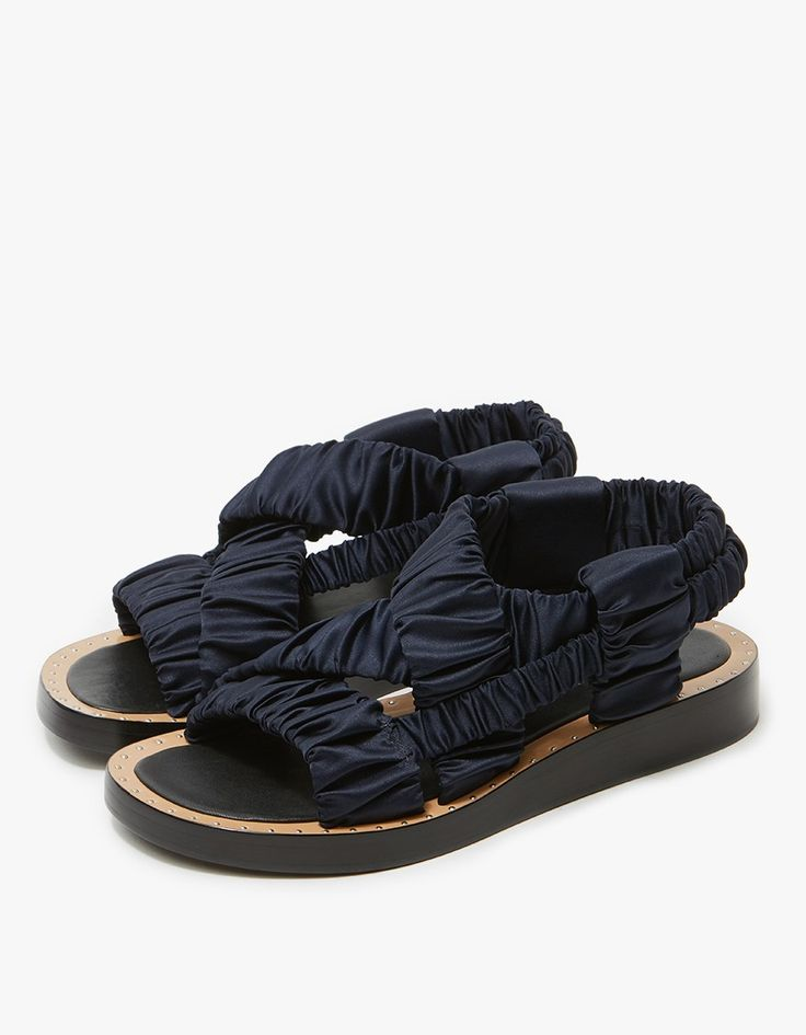 3.1 Phillip Lim / Nagano Rouched Sandal