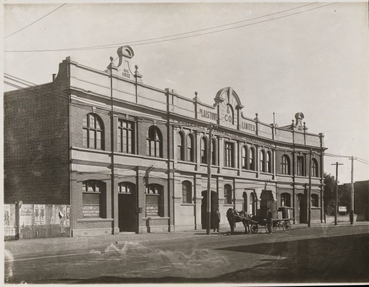 BA533/158: Plaistowe & Company confectionary factory and offices, Marquis Street, West Perth, 1914.   https://encore.slwa.wa.gov.au/iii/encore/record/C__Rb1923314