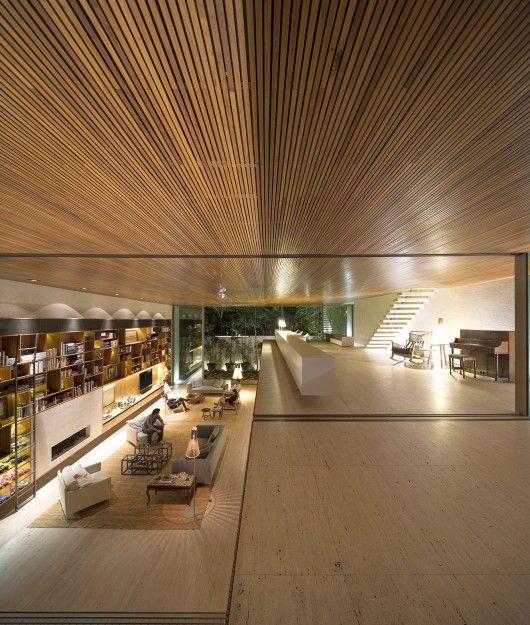 Interior from Tetris House, São Paulo, Brazil by Studiomk27