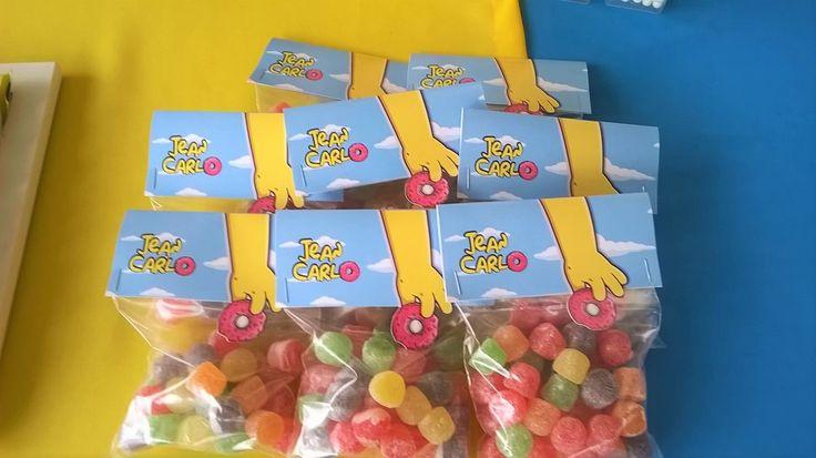 Lembrança Especial. Simpsons party