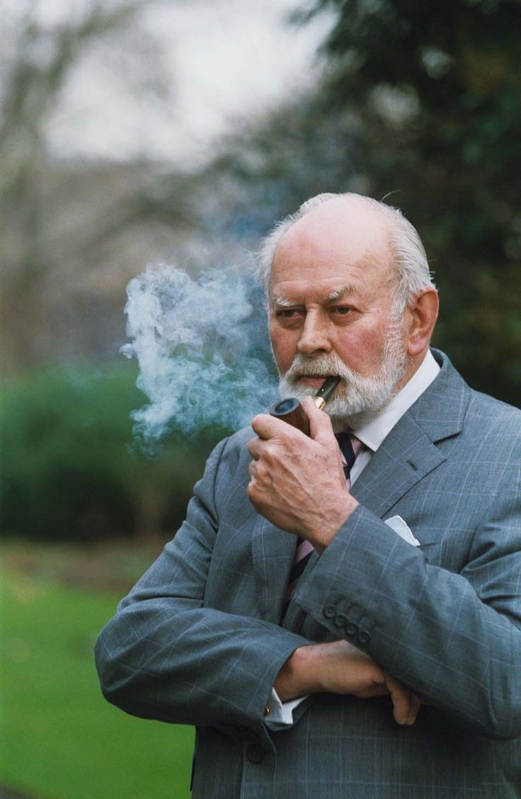 Richard Dunhill, grandson of Dunhill Pipe and Tobacco company founder, Alfred Dunhill.