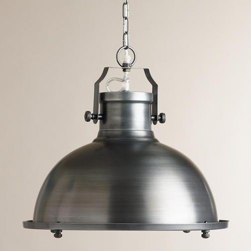 One of my favorite discoveries at WorldMarket.com: Nautical Metal Hanging Pendant Lamp