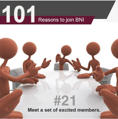 Did you know that you are probably separated from your dream client only by 2 or 3 degrees? Yes, this can be true, because you never know who your referral partner knows. Get invited to a BNI meeting in your area to understand more.   Click on the link to get invited to a BNI meeting → http://bit.ly/BNIgetinvited  #BNIIndia #101Reasons