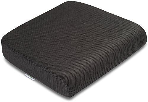 Extra Large Seat Cushion Black Chair Pad Slipcovers Foam Office Work Furniture #TravelMate