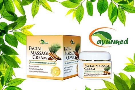 Primele impresii despre Facial Massage Cream de la Ayurmed  https://www.facebook.com/Brander.ro/?fref=ts
