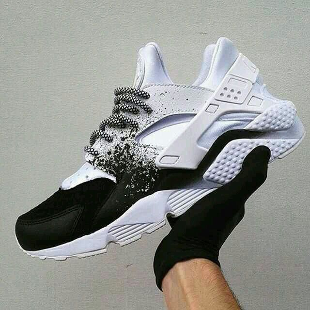 "NIKE Women's Shoes - ""Sick custom Nike Huaraches from Feels almost like a  STAMPD collab! - - Find deals and best selling products for Nike Shoes for  Women"