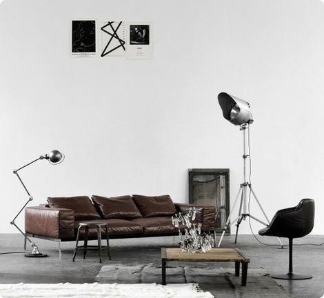 De Lifesteel Van Flexform. Industrial DesignGentlemanSofaInterior