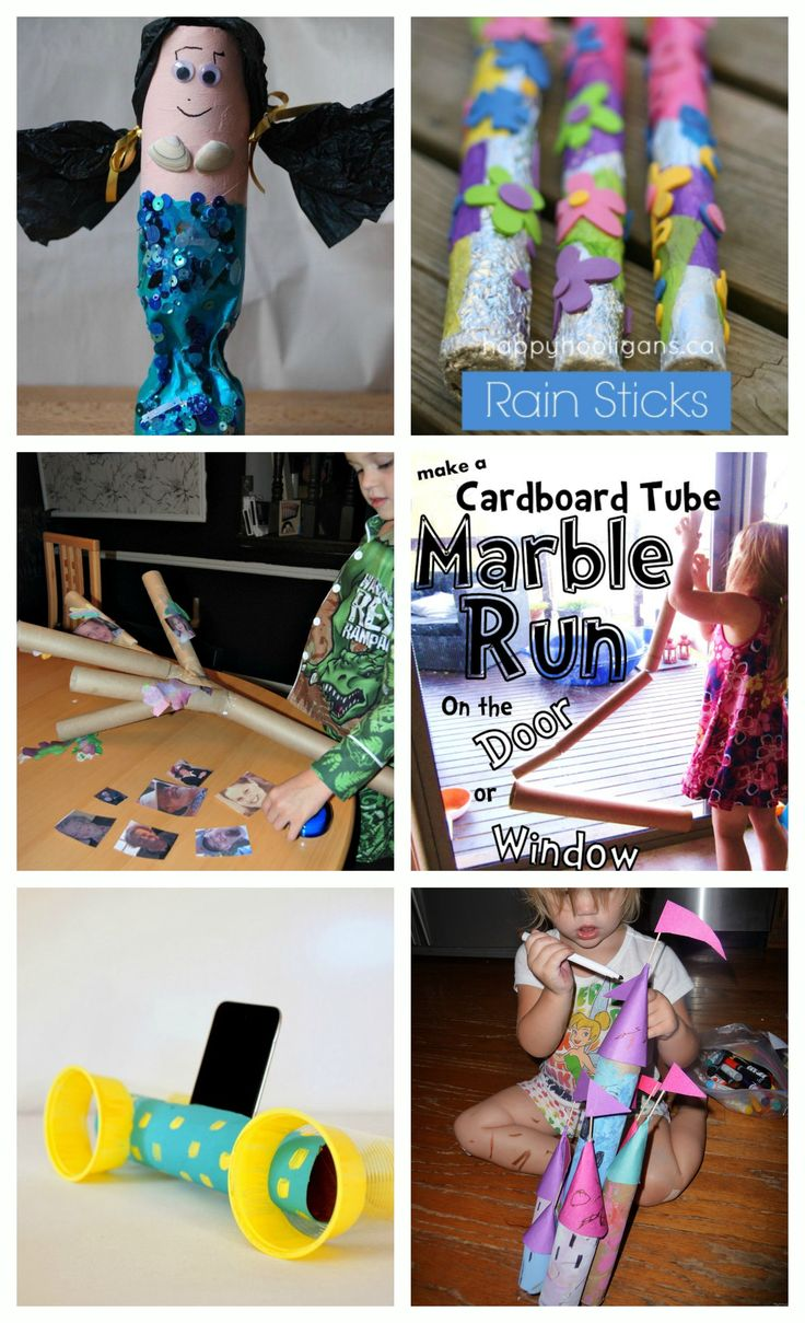 Paper Towel Roll Crafts