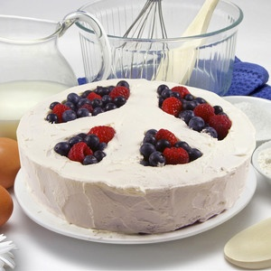 Peace Of Cake Baking Mold now featured on Fab.
