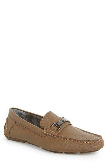 CALVIN KLEIN 'Magnus' Driving Shoe (Men). #calvinklein #shoes #