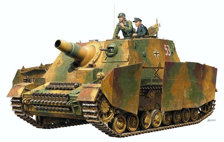 Sturmpanzer IV Brummbär «numero tactico 53» Sd.Kfz.166. A.Furui. http://www.elgrancapitan.org/foro/viewtopic.php?f=12&t=17519&p=887758#p887758