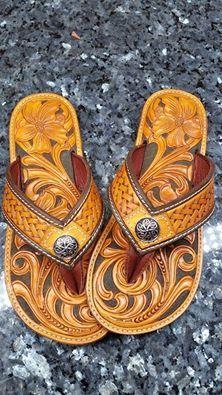 Shoes Handmade Leather Best Flip Flops Slippers Construction