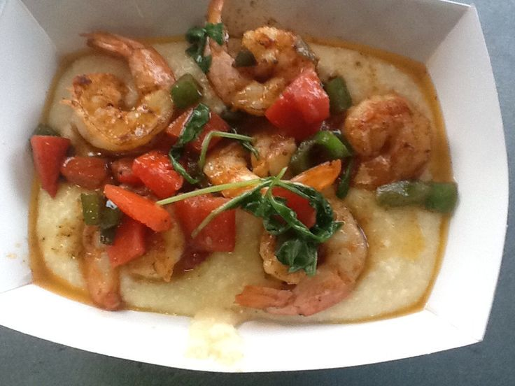 Shrimp And Andouille Grits Recipe — Dishmaps