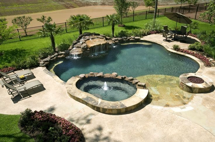 41 Pool Landscape Design Ideas To Match Your Summer Days Backyard Pool Pool Landscaping Pool Landscape Design