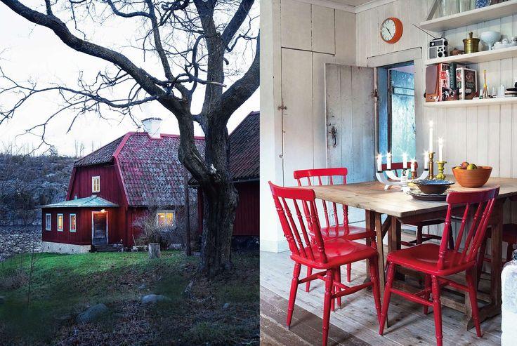 Den gamla prästgården hade stått obebodd i femtio år. Sedan flyttade restaureringsexperten Gustaf Willers in och tog vara på allt det vackra