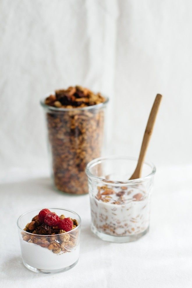 Honey Caraway Granola for breakfast! Love this with coconut milk yogurt or homemade nut milk.