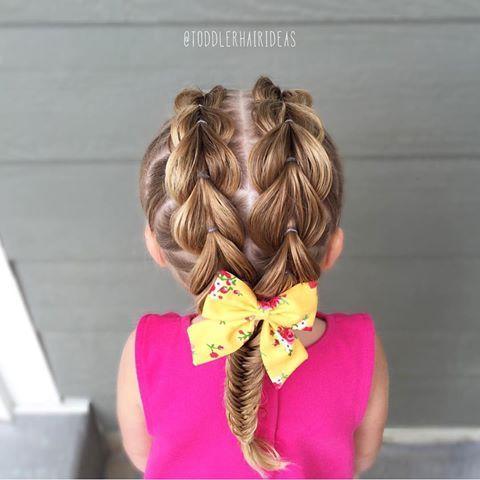 Прически для девочек - 150 вариантов, фото и видеоуроки