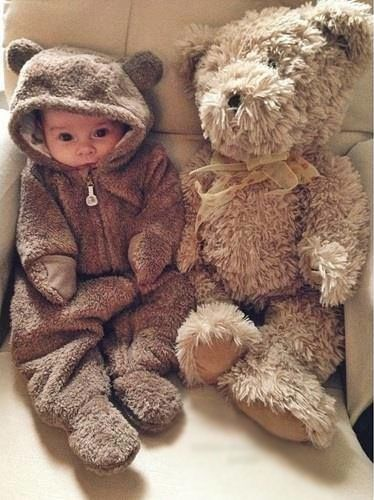 Cuddly as a teddy bear! bear kids pajamas