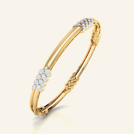 Bonny braid bangle