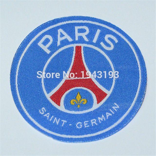 Patch voor psg jersey badge Ijzer op voor kleding voetbal club football stickers voor kleding logo maillot psg sport patches