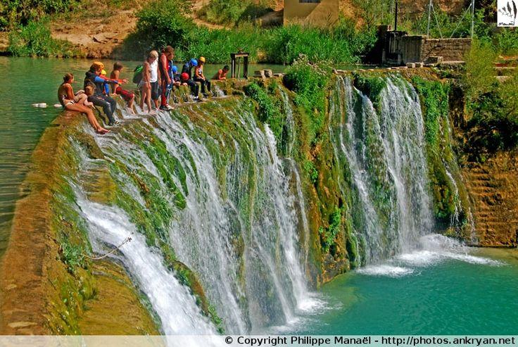 Barrage de Bierge et sa cascade (Sierra de Guara)