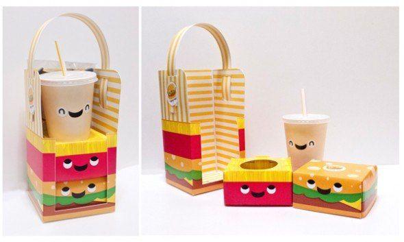 Счастливые коробочки для обеда с собой