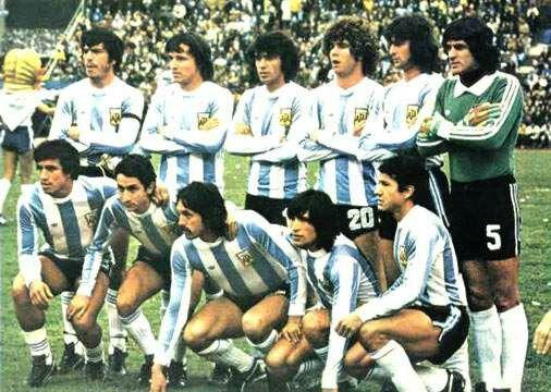 Argentina Campeon Mundial 1978.