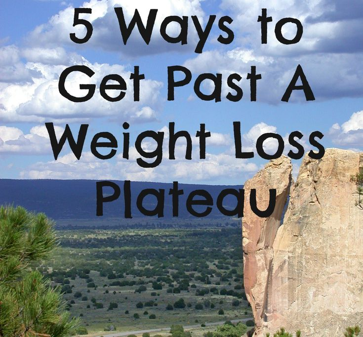 10 Ways to Move Beyond a Weight Loss Plateau