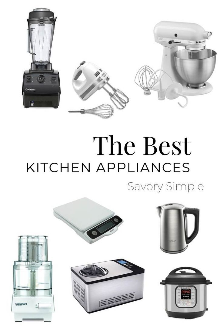 The Best Small Kitchen Appliances For Home Cooks Small Kitchen