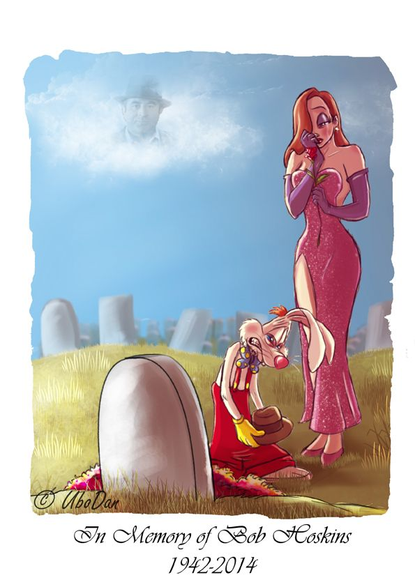ubodan:  In memory of Bob Hoskins by ubodan My tribute <3