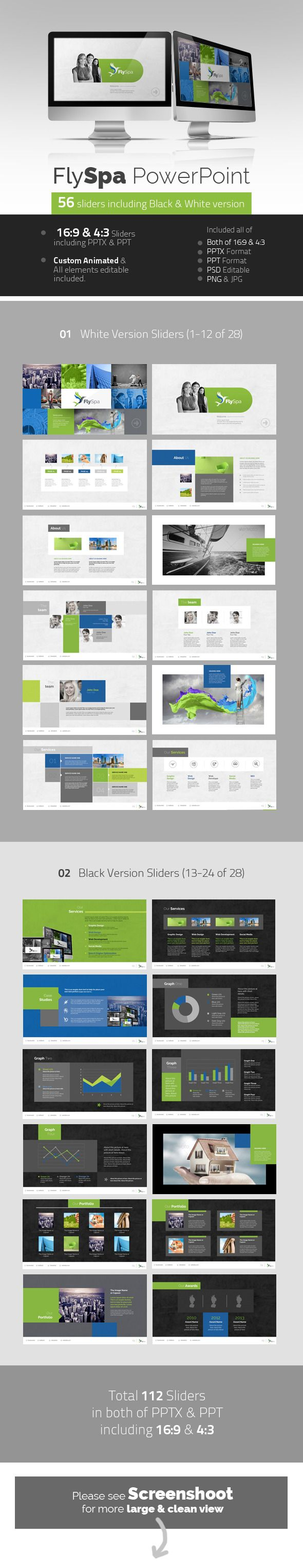 FlySpa Professional PowerPoint - Presentation Templates