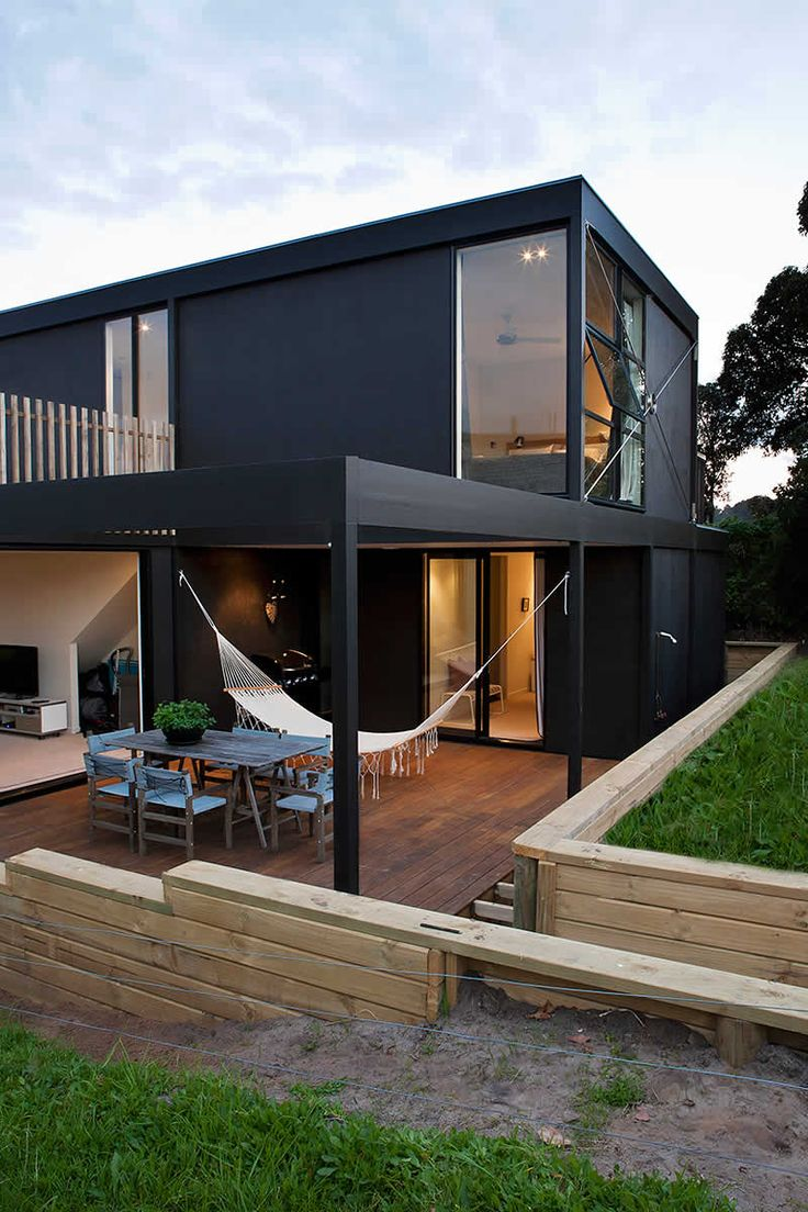 59 Best Black Houses Images On Pinterest