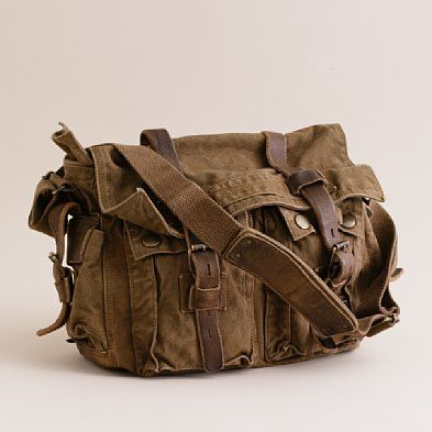 """Belstaff® Colonial shoulder bag 556 - """"Founded in Staffordshire, England, in 1924, Belstaff is famous around the globe for its fine workmanship and durable, hardworking technical gear."""" ($385.00)"""
