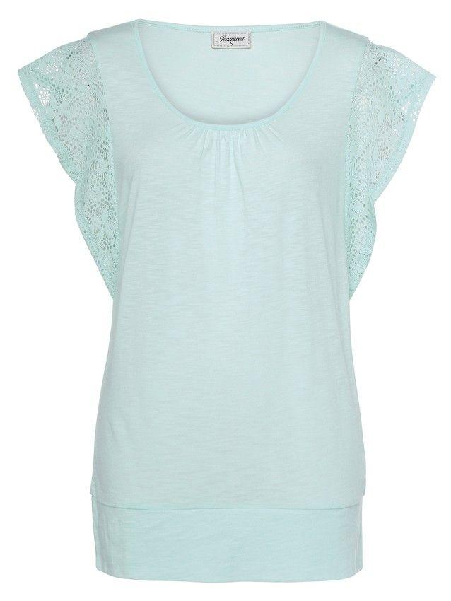 'Aya' Crochet Lace Sleeve Tee -