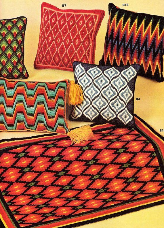 Bargello Needlepoint Patterns by Margaret Boyles by StitchySpot