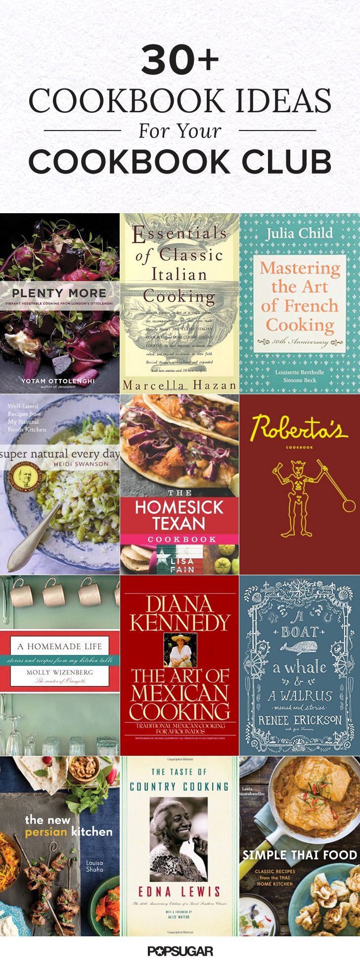 30+ Cookbook Ideas For Your Cookbook Club + Tips for Starting One