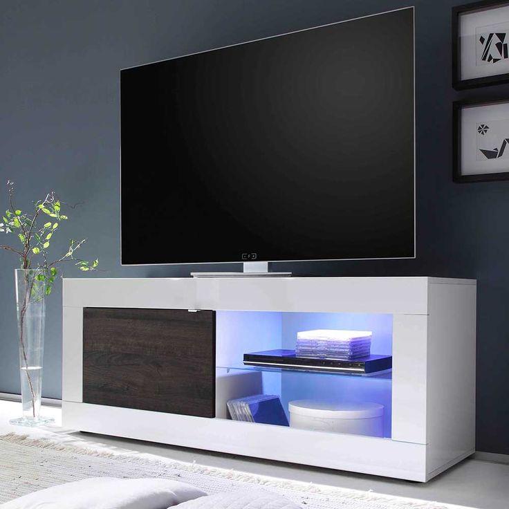Wohnzimmer Hangeschrank Weis Hochglanz. die besten 25+ tv schrank ...
