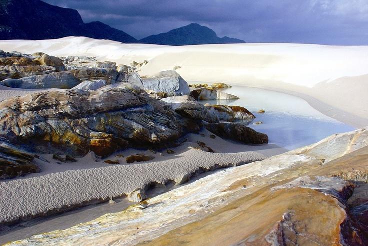 Silversands beach in Bettys Bay, Western Cape, South Africa