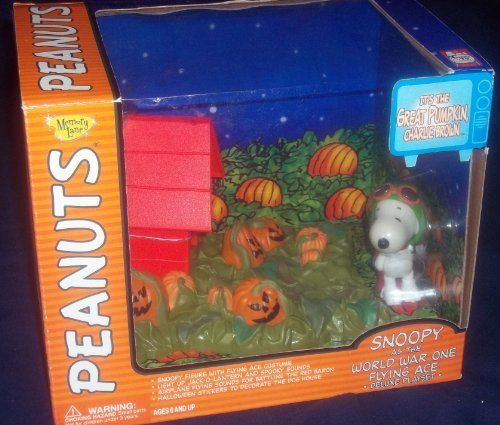 SNOOPY AS THE WORLD WAR ONE FLYING ACE DELUXE SET ITS THE GREAT PUMPKIN CHARLIE BROWN @ niftywarehouse.com #NiftyWarehouse #Peanuts #CharlieBrown #Comics #Gifts #Products