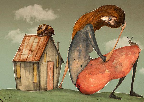ev / home by Erhan Cihangiroğlu, via Behance