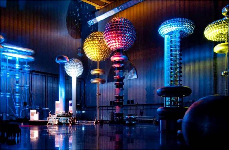 ABB i Ludvika. Här är man världsledande på elkraftteknik och bedriver banbrytande forskning för att säkra framtidens energiförsörjning.