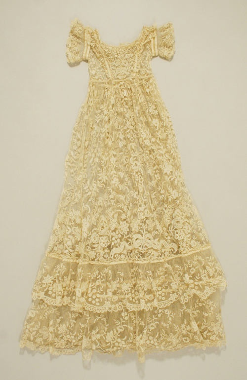 This is a christening gown, but whatever.  It's beautiful.