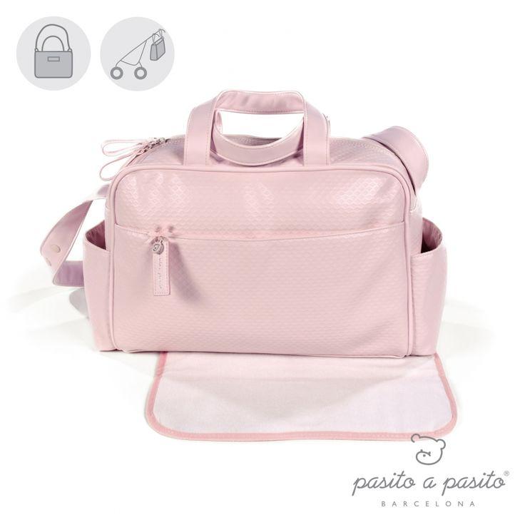 Roze luiertas van het Spaanse merk Pasito a Pasito.