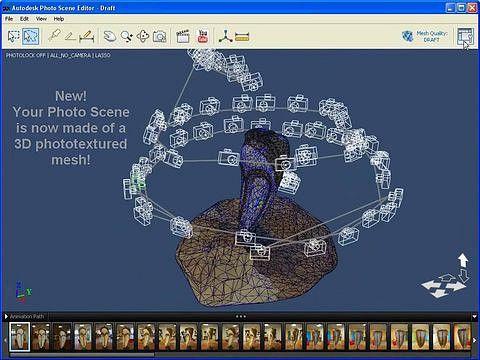 Project Photofly 2.0: Software Erstellt 3D Modelle Aus Fotos