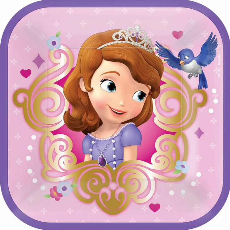 SOFIA THE FIRST SMALL PLATE